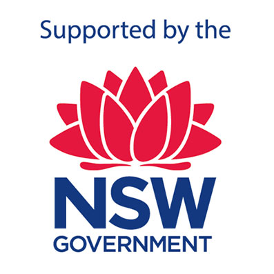 NSW Goverment Logo - Sculpture on Clyde Major Partner